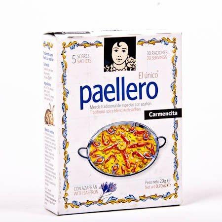 PAELLERO Carmencita (5 envelopes 4g cada)