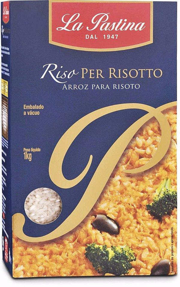 Arroz para Risoto - La Pastina - (1 Kg)