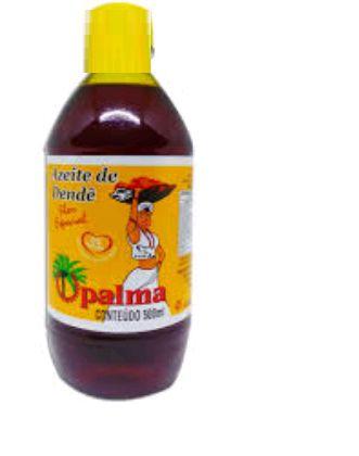 AZEITE de Dendê - 500 ml.