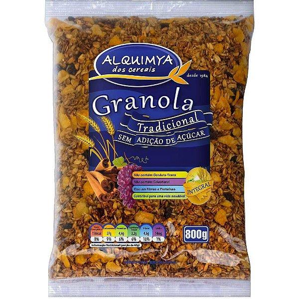 GRANOLA de cereais ALQUIMYA - Sem açúcar (800g)