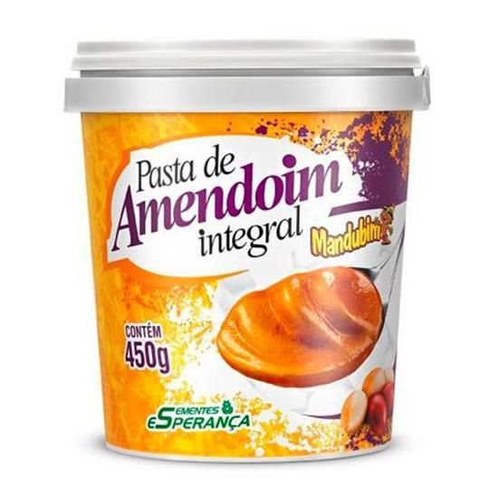 PASTA DE AMENDOIM Integral (450g)