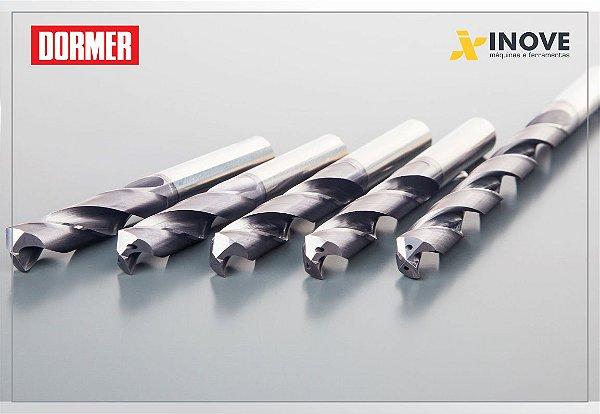 Broca Metal Duro R458 force-X 3XD DIN6535 Dormer