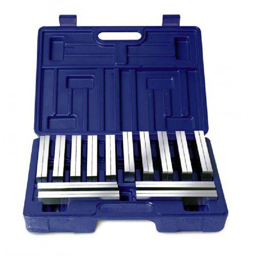 Jogo de 28 blocos temperados e retificados com precisão de 0,01mm e dureza 50HRC modelo P150