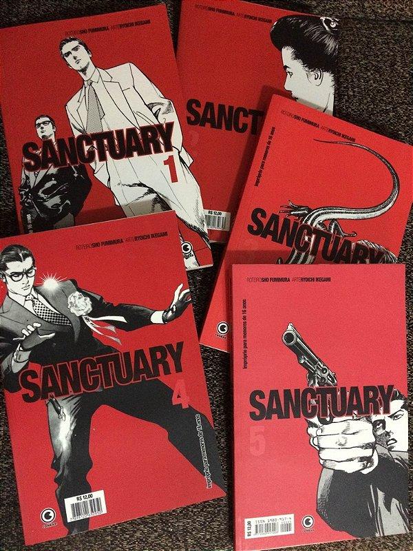 Sanctuary - Pacote com as edições 1, 2, 3, 4 e 5