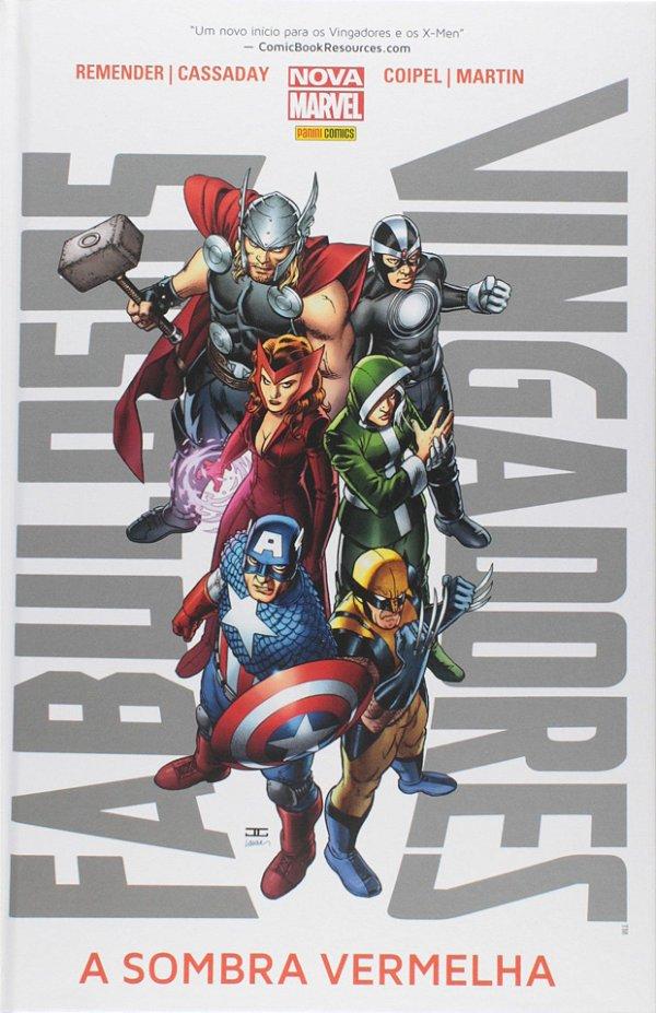 Fabulosos Vingadores - A Sombra Vermelha