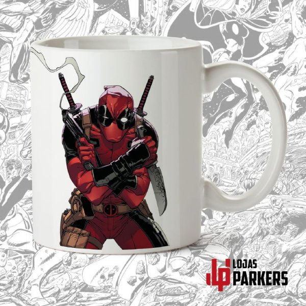 Caneca LP - DeadPool