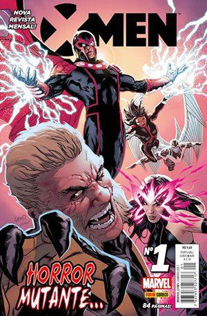 X-MEN - ED. 1 (Nova revista mensal)