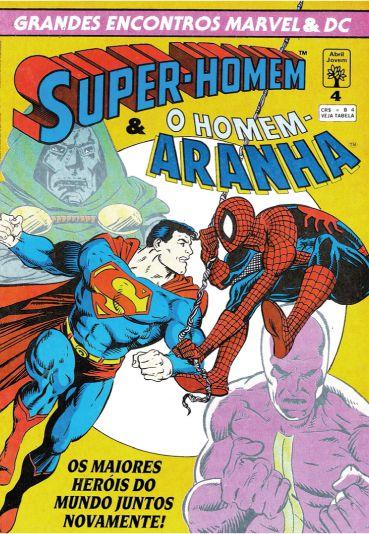 Super-Homem e o Homem Aranha - Grandes encontros Marvel & DC - Raridade