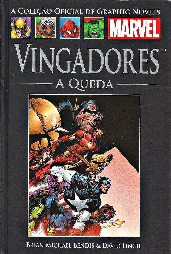 VINGADORES - A QUEDA - GRAPHIC NOVELS MARVEL ED. 03
