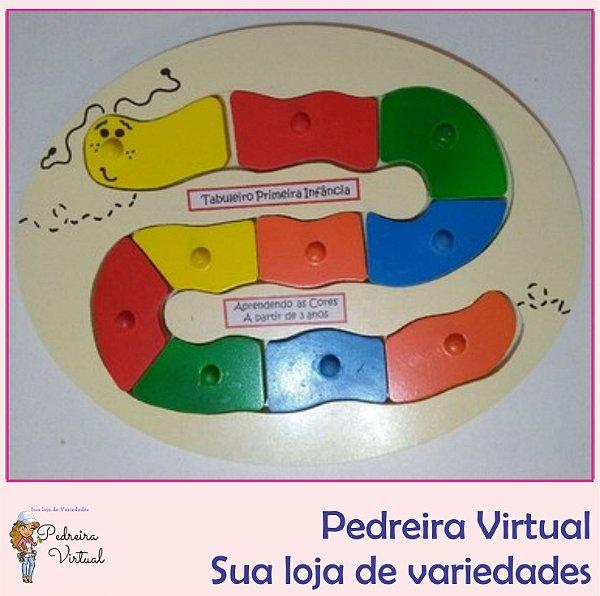Tabuleiro Primeira Infância - Brinquedo Pedagógico