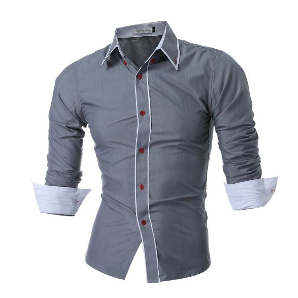 947f98eb20 Camisas social masculina slim fit 5 cores diferentes