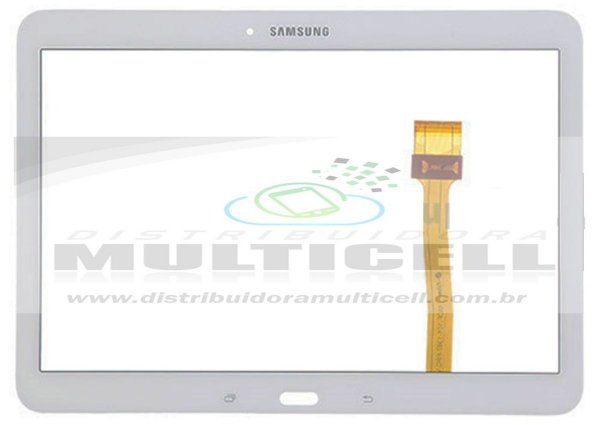 "TELA TOUCH SCREEN T530/T531/T535 SAMSUNG GALAXY TAB 4.0 10.1"" BRANCO ORIGINAL"
