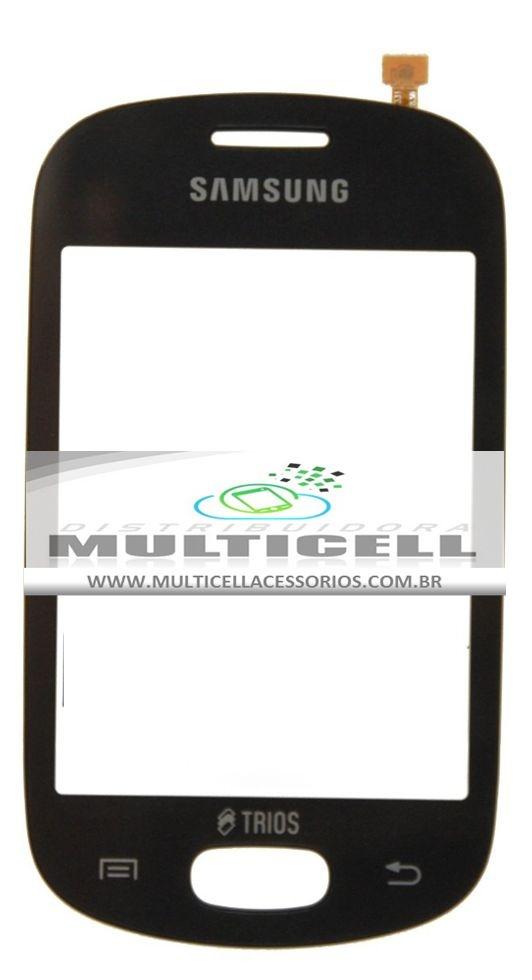 TELA TOUCH SCREEN SAMSUNG S5283 TRIOS PRETO 1ªLINHA