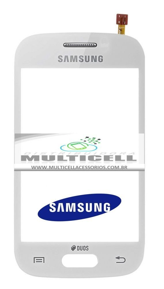 TELA TOUCH SCREEN SAMSUNG S6293 GALAXY YOUNG PLUS BRANCO ORIGINAL (GH96-07211B)