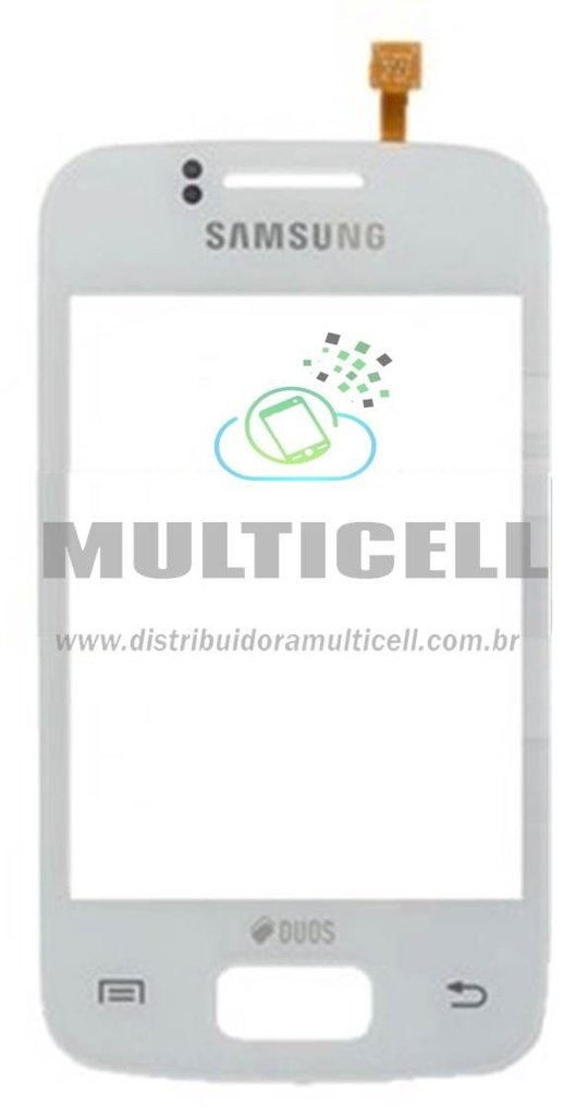 TELA TOUCH SCREEN SAMSUNG S6102 GALAXY Y DUOS BRANCO