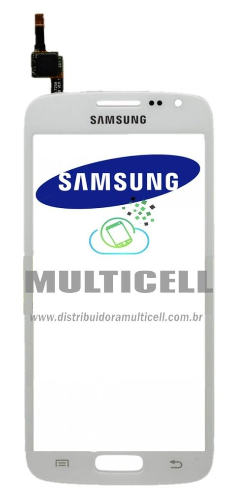 TELA TOUCH SCREEN SAMSUNG G3812 GALAXY S3 SLIM BRANCO ORIGINAL (GH59-13574A)