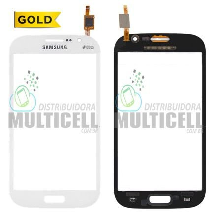 TELA TOUCH SCREEN SAMSUNG I9080 I9082 GRAND DUOS BRANCO 1ªLINHA AAA GOLD