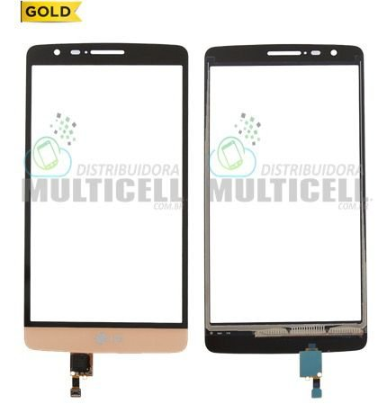 TELA TOUCH SCREEN LG D722 D724 D725 G3 MINI BEAT DOURADO 1ªLINHA AAA GOLD