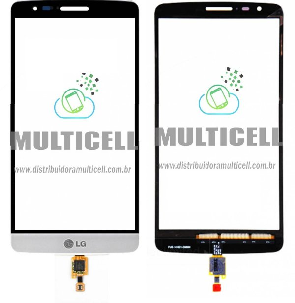 TELA TOUCH SCREEN LG D690 G3 STYLUS DUAL BRANCO ORIGINAL