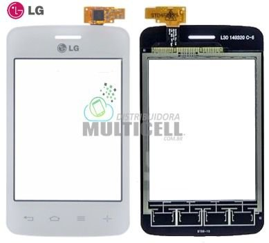 TELA TOUCH SCREEN LG D125 D127 L30 BRANCO 100% ORIGINAL