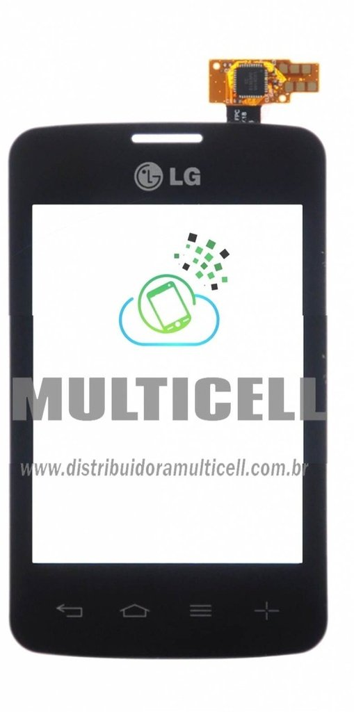 TELA TOUCH SCREEN LG D100/D105 L20 PRETO 1ªLINHA