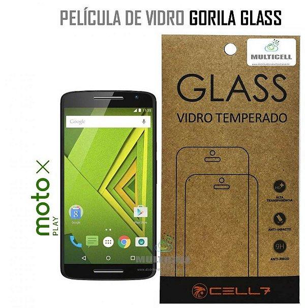 PELICULA DE VIDRO DIAMANT MOTOROLA MOTO X PLAY XT1563 GORILA GLASS