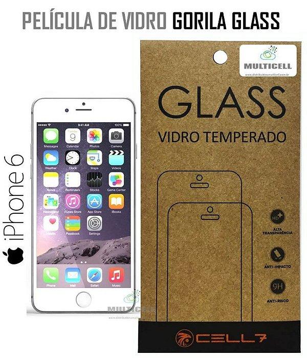 PELICULA DE VIDRO DIAMANT APPLE IPHONE 6 GORILA GLASS