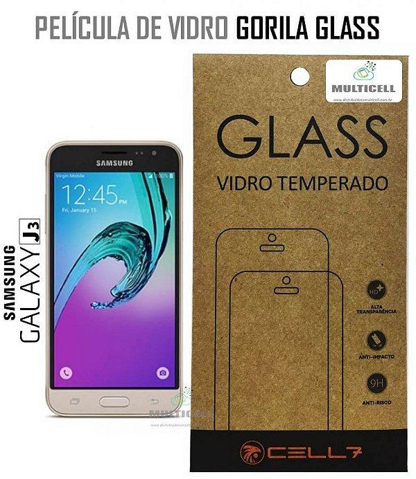 PELICULA DE VIDRO DIAMANT SAMSUNG J320 GALAXY J3 2016 GORILA GLASS