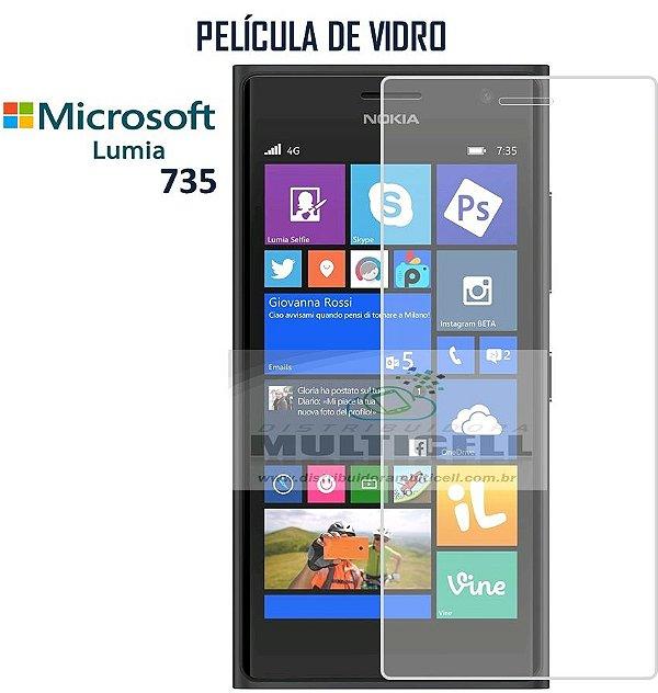 PELICULA DE VIDRO NOKIA MICROSOFT LUMIA 735 0.3mm