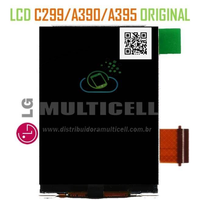 DISPLAY LCD LG A390 A395 C299  4 CHIP 100% ORIGINAL
