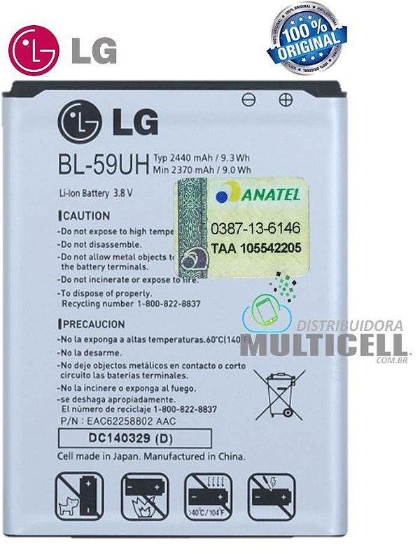BATERIA LG BL-59UH 2440mAh D618/D620/D625 ORIGINAL