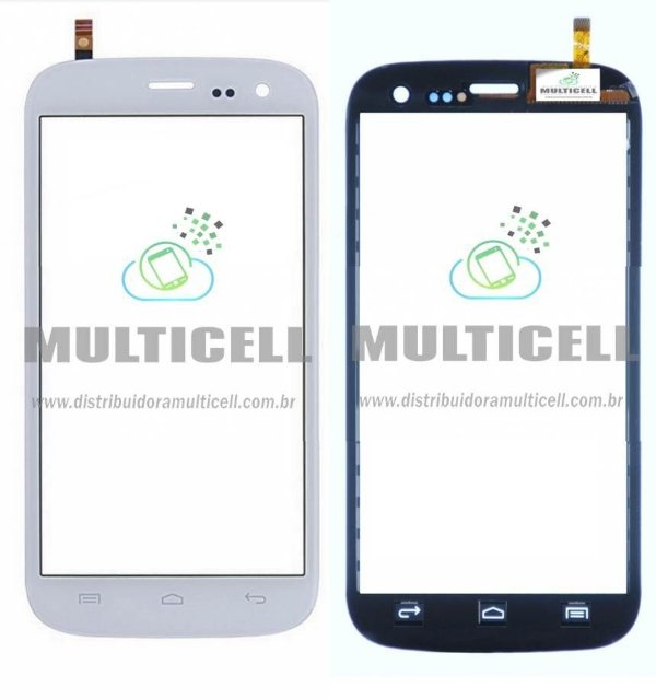 TELA TOUCH SCREEN BLU L131 BLU LIFE ONE M 5.0 BRANCO ORIGINAL