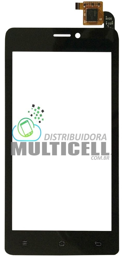 TELA TOUCH SCREEN CCE SC452 SC 452 TV MOTION PLUS PRETO ORIGINAL