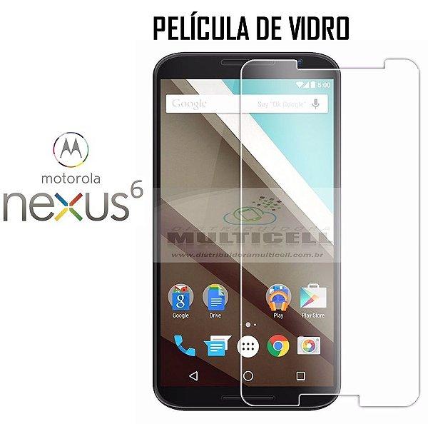 PELÍCULA DE VIDRO MOTOROLA XT1100 XT1103 NEXUS 6