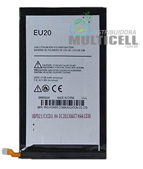 BATERIA MOTOROLA EU20 XT1080 DROID ULTRA 3.8 LITION 2130mhA ORIGINAL