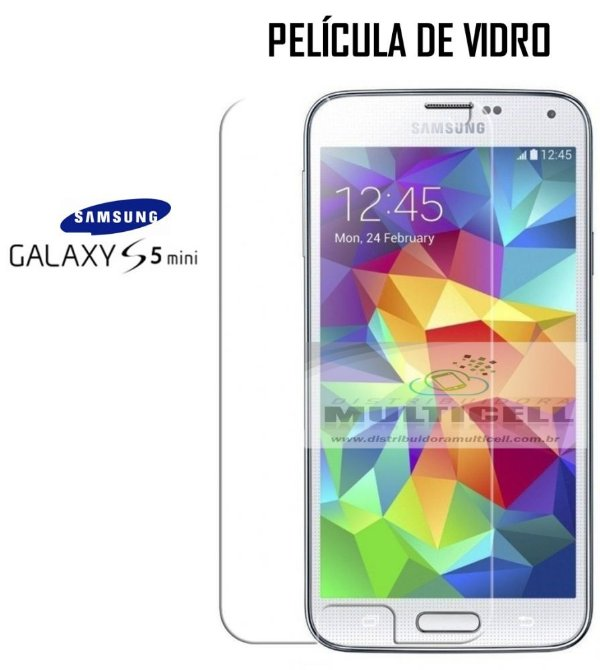 PELICULA DE VIDRO SAM G800 GALAXY S5 MINI 0.3mm