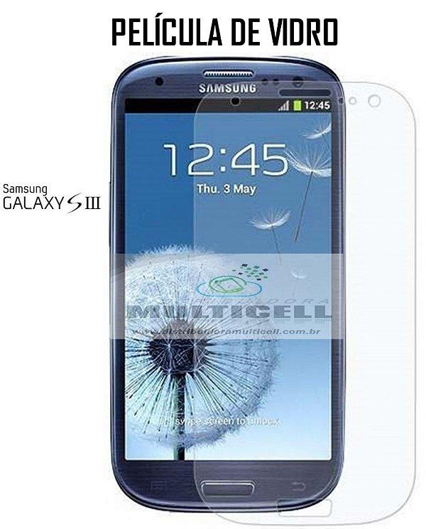PELICULA DE VIDRO SAMSUNG I9300 I9305 GALAXY S3 2,5mm