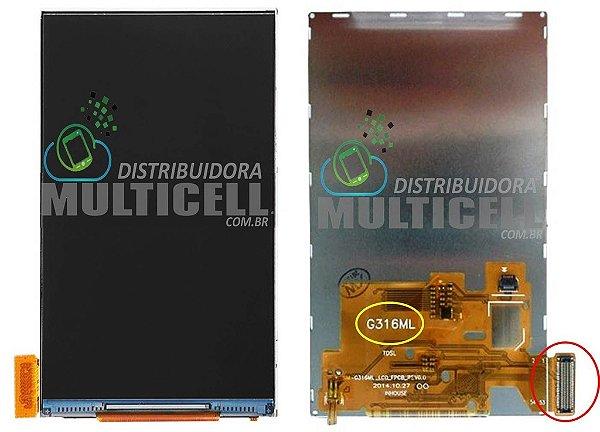 DISPLAY LCD SAMSUNG G316ML G316H GALAXY ACE 4 (CONECTOR LONGO)