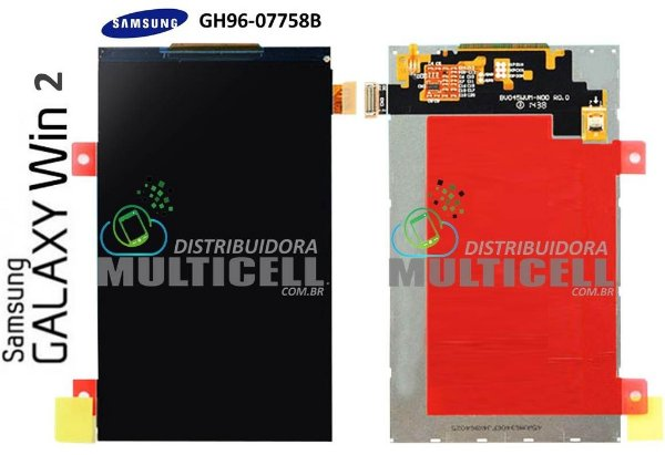 DISPLAY LCD SAMSUNG G360 G361 GALAXY WIN 2 DUOS (GH96-07758B) ORIGINAL