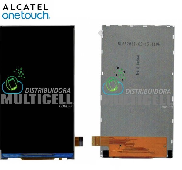 DISPLAY LCD ALCATEL OT5036 OT5037 OT5038 POP C5 DUAL ORIGINAL