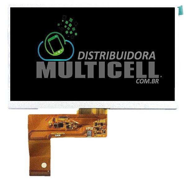 DISPLAY LCD TABLET /GPS FOSTON 7' 40 VIAS  (HYC740) ORIGINAL