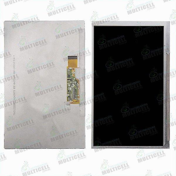 DISPLAY LCD SAMSUNG T110 T111 T113 T114 T116 TAB 3 LITE HDT-7223 MAESTRO YUNDAI 1ªLINHA QUALIDADE AAA