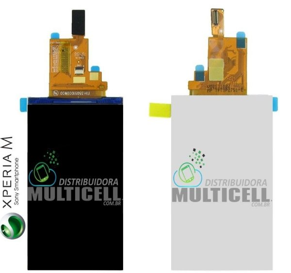 DISPLAY LCD SONY C1904 C1905 C2004 C2005 XPERIA M 1ªLINHA