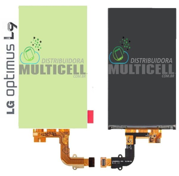DISPLAY LCD LG P760 P768 P769 OPTIMUS L9  1ªLINHA