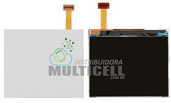 DISPLAY LCD NOKIA C3 N200 N201 X2-01 ASHA 205 1ªLINHA
