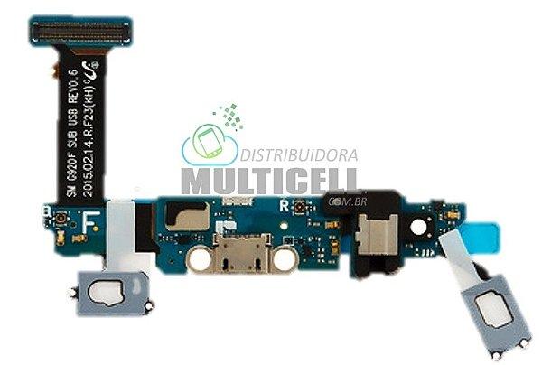 FLEX CONECTOR DOCK DE CARGA G920F SAMSUNG GALAXY S6 ORIGINAL
