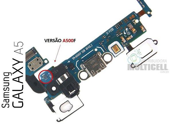 e6a9f03294e FLEX DOCK CONECTOR DE CARGA E MICROFONE SAMSUNG A500F REV-03 SL-1442 GALAXY