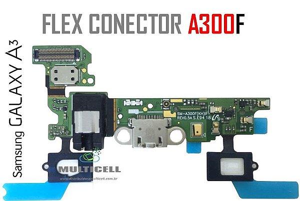 FLEX DOCK CONECTOR DE CARGA SAMSUNG A300F GALAXY A3 COMPLETO ORIGINAL