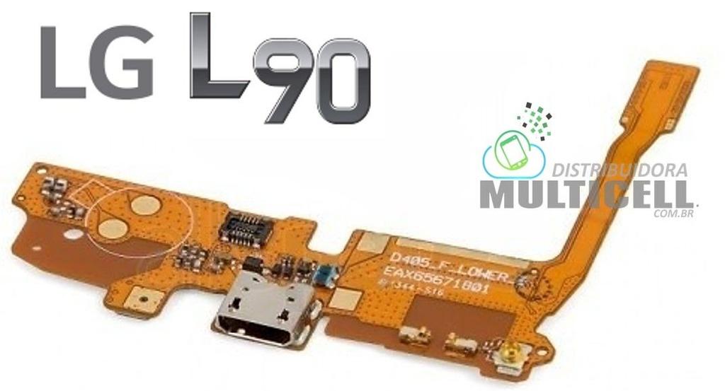 FLEX DOCK CONECTOR DE CARGA LG D410 D415 L90 DUAL 1ªLINHA