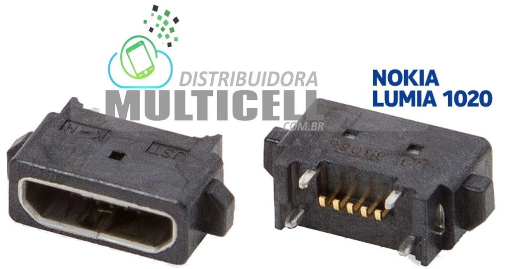 CONECTOR DOCK DE CARGA NOKIA LUMIA 920 925 1020 ORIGINAL
